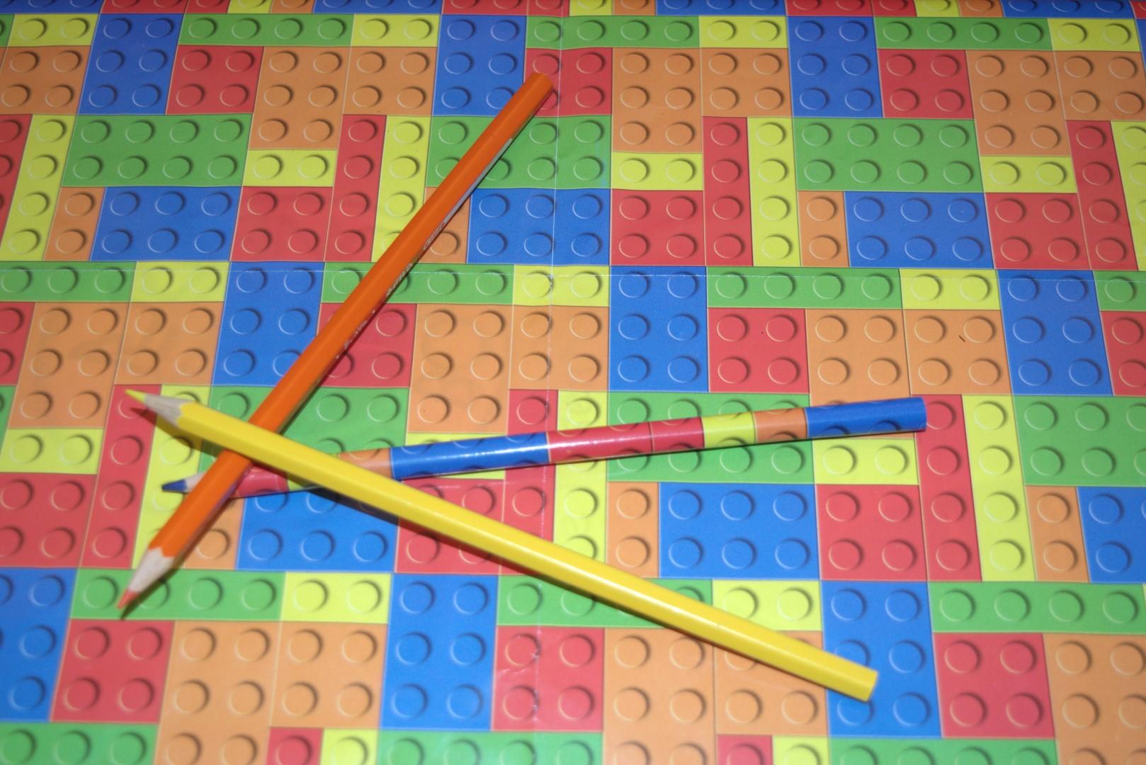 MATITA COLORATA  LEGO