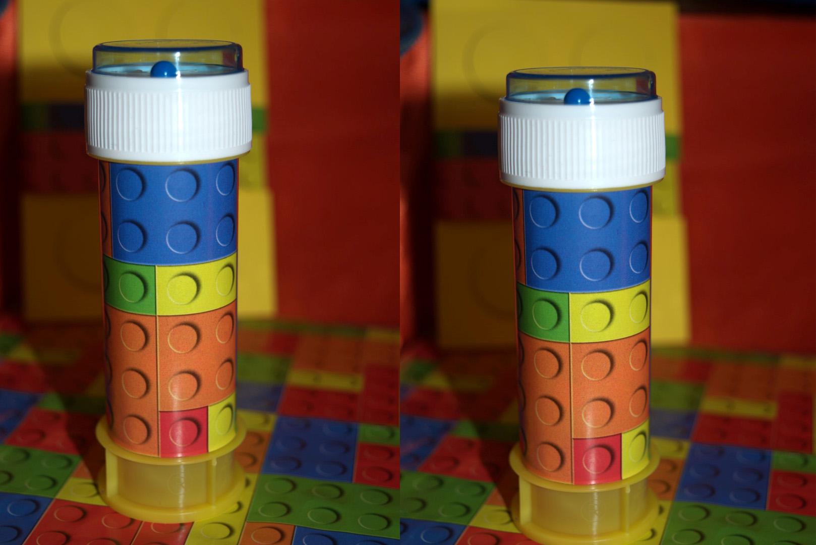 BOLLE DI SAPONE LEGO